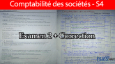 Comptabilité des sociétés examen s4