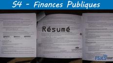 résumé Finances Publiques