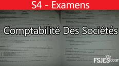 Examens comptabilité des sociétés
