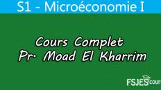 Cours de microéconomie