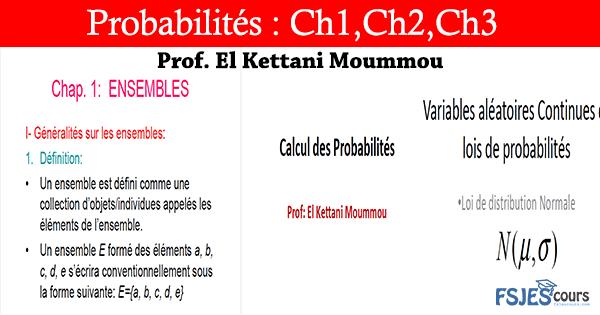 Cours Probabilités