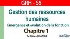 GRH cours complet chapitre 1