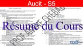 Résumé audit général pdf