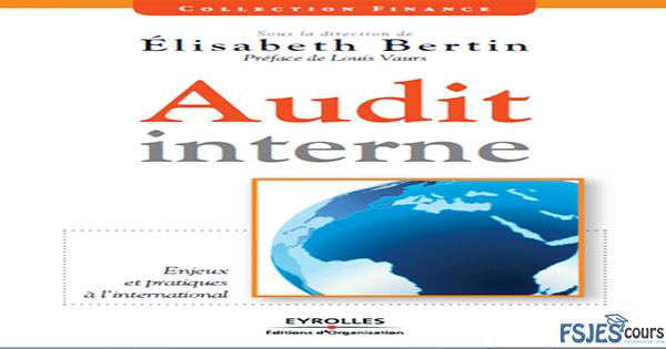 Audit interne , enjeux et pratiques à l'international