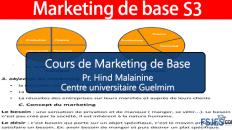 Cours de Marketing de Base