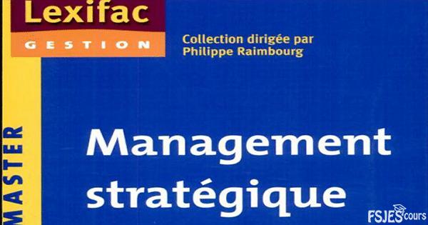 Management stratégique