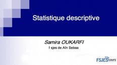 Statistique descriptive S1