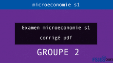 Examen microeconomie s1 gr2