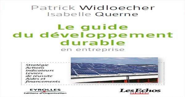 Le guide du développement durable en entreprise