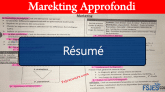 Marketing approfondi résumé