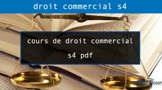 cours de droit commercial s4 pdf