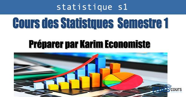 cours statistique s1 pdf