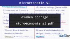 examen corrigé microéconomie s1 pdf