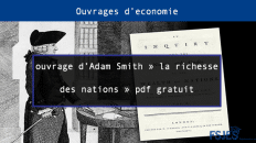 ouvrage d'Adam Smith la richesse des nations pdf