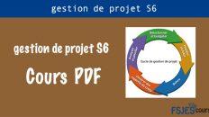Cours gestion de projet S6