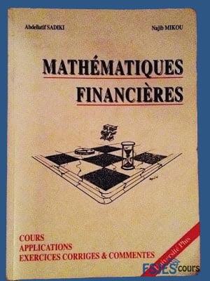 Mathématiques financières ouvrage