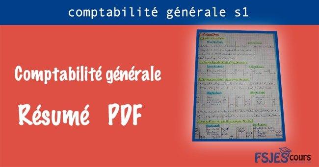 Résumé comptabilité générale s1