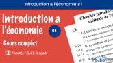 introduction a l'économie cours s1