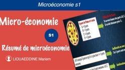 Résumé de microéconomie s1 pdf