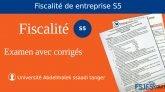 Examen deFiscalité d'entreprise S5 avec corrigé PDF