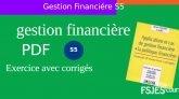Exercice de gestion financière corrigé S5 PDF