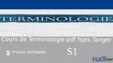 Cours compet de Terminologie économique s1 pdf
